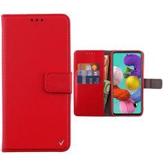 """ΘΗΚΗ SAMSUNG A51 A515 6.5"""" ALLURE MAGNET BOOK STAND CLIP RED Book Stands, Samsung, Magnets, Wallet, Books, Red, Pocket Wallet, Livros, Handmade Purses"""