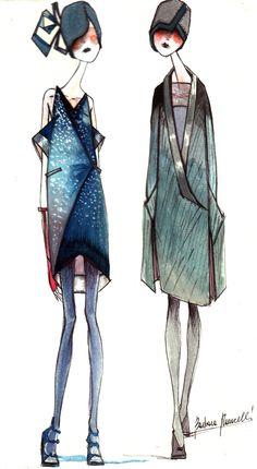 Moda   I lunghi veli di Ophélia