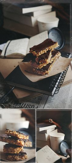 Pumpkin Luna Bars, Food Photography, #vkrees