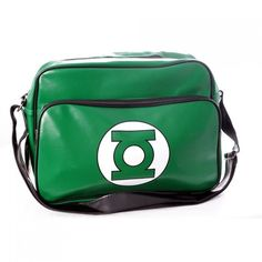 Green Lantern Shoulder Bag - Only Dc Comics, Logan, Superman, Wonder Woman, Unique Purses, Green Bag, Geek Chic, Unisex, Purses And Handbags