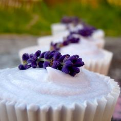 Sweet Tooth: Guest Desserts: Lavender Cupcake Recipe