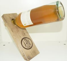 T&t Monogrammed Wine Bottle Holder