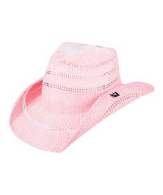 Another great find on #zulily! Pink Stadler Cowboy Hat #zulilyfinds
