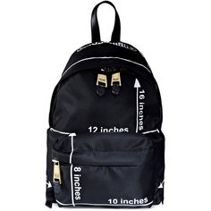 Moschino Backpack ($319) ❤ liked on Polyvore featuring bags, backpacks, backpack, moschino, black, rucksack bag, black bag, knapsack bags, backpack bag and moschino bag