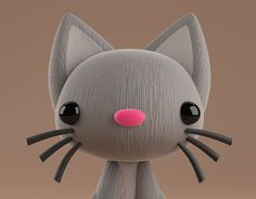 "Check out new work on my @Behance portfolio: ""KITTY 3D"" http://be.net/gallery/54655921/KITTY-3D"