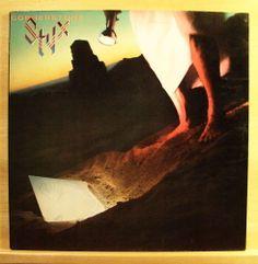 STYX - Cornerstone - Vinyl LP - AOR FOC - Boat on the River Lights Babe Top Rare