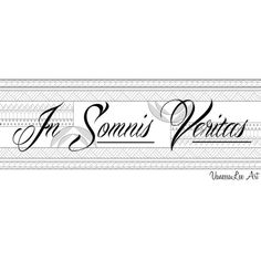 "In Somnis Veritas ""In dreams there is truth"" Latin Quote Latin Quotes, Latin Phrases, Latin Words, Wise Words, Me Quotes, Latin Sayings, Latin Tattoo, Latin Language, Language Quotes"