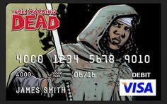 The Walking Dead Debit Cards