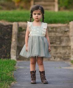 185a25b6a Cream   Lavender Floral Maxi Dress - Toddler   Girls