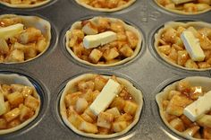 Mini Apple Pies.
