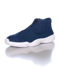 JORDAN+Reflective+Low+top+woven+sneaker+Asymmetrical+lace+closure+Cushioned+inner+sole+Mesh+overlay