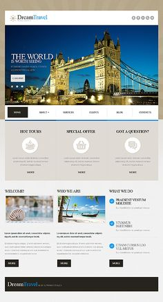 Joomla #template // Regular price: $75 // Unique price: $4500 // Sources available: .PSD, .PHP #Travel #Joomla #smartphone #tablet #responsive