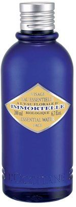 L'Occitane Immortelle Essential Water - team with the matching cleanser for fresh, smooth, clean skin at the end of the day.
