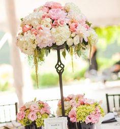 pink reception wedding flowers,  wedding decor, pink wedding flower centerpiece, pink wedding flower arrangement, add pic source on comment and we will update it. www.myfloweraffair.com