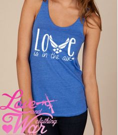 Air Force Love is in the air eco friendly racer by . for dayna! Air Force Girlfriend, Military Girlfriend, Military Mom, Boyfriend, Air Force Love, Us Air Force, Airforce Wife, Just In Case, Dress To Impress