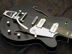 Reverend Guitars Pete Anderson PA-1 Satin Black