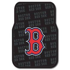 Boston Red Sox MLB Car Front Floor Mats 2 17x25