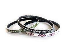 Vintage Steinbock Wien Bangles Bracelets by AnotherSkyVintageLLC