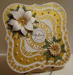 Gold challenge card for Cheery Lynn Designs