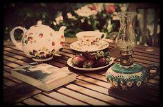 Tea and book time