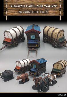 EC3D - Caravan Carts and Wagons