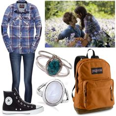 A fashion look from July 2014 featuring blue top, blue jeans and black shoes. Browse and shop related looks. Stylish Outfits, Cute Outfits, Fashion Outfits, Bella Swan Aesthetic, Kristen Stewart Twilight, Twilight Outfits, Vampire Diaries Outfits, Bella Dresses, Twilight Saga Series
