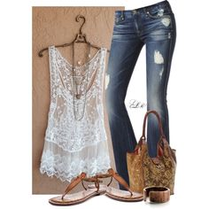 A fashion look from May 2014 featuring 7 For All Mankind jeans and Sam Edelman sandals. Browse and shop related looks.