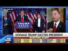 REINCE - INTERVIEW ON FOX & FRIENDS -  FOX NEWS 11-9-2016