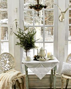 Shabby Winter Whites