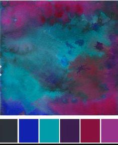 Pink purple teal and blue #armadilloflip