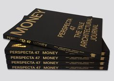 Published by MIT Press, the Yale School of Architecture journal Perspecta is the oldest student-edited architectural journal in the United States. Issue 47 focuses on the topic Money, and the book design references structural elements of...