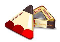 Toblerone's back to school campaign