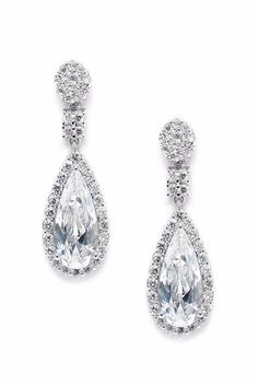 Mariell Victorian Teardrop Earrings