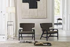 Poltrona Fulgens -Maxalto - Design of Antonio Citterio Living Room Furniture, Home Furniture, Furniture Design, Space Furniture, Single Sofa Chair, Contemporary Armchair, Contemporary Furniture, Modern Contemporary, Traditional Sofa