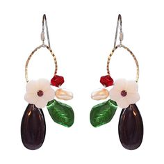 Prue Trollope : ALICE EARRINGS $32.00
