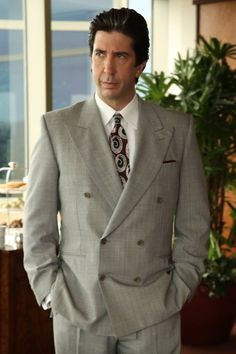 """'People v. Simpson's' David Schwimmer: Robert Kardashian """"Never Recovered"""" After the Trial """"It changed him profoundly"""" the actor reveals about his crisis of faith pertaining to Simpson's innocence. People Vs Oj Simpson, Simpson Tv, David Schwimmer Robert Kardashian, American Crime Story Oj, Best Tv Shows, Movies And Tv Shows, The People Vs Oj, Lionel Ferro, Ross Geller"""