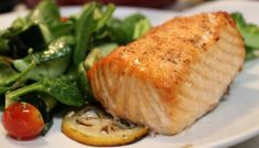 Andy's Amazing Baked Salmon