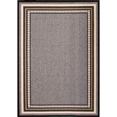 Home Decorators Collection Hand Made Monument 4 ft. x 5 ft. 3 in. Border Area Rug-RUG121669 - The Home Depot