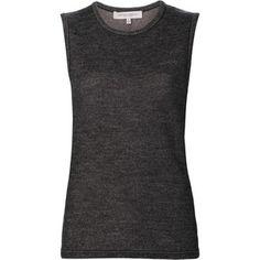 Carolina Herrera 'Tweed Knit' tank Carolina Herrera, Streetwear Brands, Tweed, Basic Tank Top, Cashmere, Luxury Fashion, Tank Tops, Shopping, Women