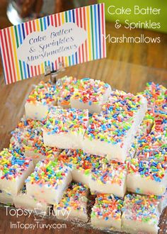 cake-batter-sprinkles-marshmallows by imtopsyturvy.com, via Flickr