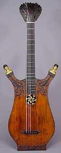 Lyre Guitars, French Lyres. Fevrot, 1811