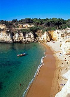 #Algarve coastline #Portugal tops poll of holiday destinations for British holidaymakers | Mail Online