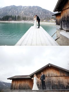Magnolia Rouge: Wintery Austrian wedding by Carmen & Ingo