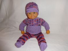 Puppenkleidung - Puppensachen Nr.36 - ein Designerstück von Marions-Strick-und-Bastelecke bei DaWanda