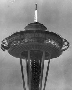 How the Space Needle shrunk over time