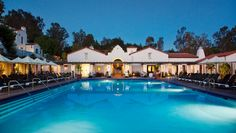 Ojai Valley Inn & Spa: Rent a cabana by the eco-friendly pool, kept warm by an in-deck radiant heating system.