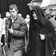 'Star Wars' Emperor recalls his first day on the job