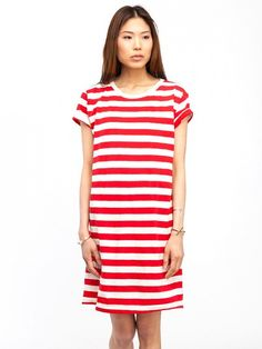 Slip this over your swimsuit // Edith A. Miller Boyfriend Mini Dress