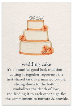 For those with a sweet tooth, selecting the perfect wedding cake for one's wedding can prove to be one of the favorite aspects of the wedding planning process. Wedding Wishes, Wedding Vows, Wedding Cards, Our Wedding, Dream Wedding, Wedding Card Messages, Cake Wedding, Wedding Anniversary, Wedding Stuff
