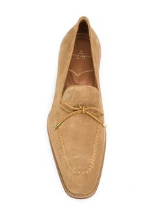 Louis Leeman decorative laces loafers